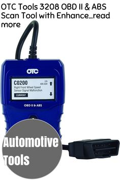 (This is an affiliate pin) OTC Tools 3208 OBD II & ABS Scan Tool with Enhanced Engine and Transmission Codes Automotive Tools, Engineering, Abs, Coding, Crunches, Abdominal Muscles, Technology, Killer Abs, Six Pack Abs