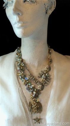 Showstopping Necklace. Downpayment on a Custom Kay. by KayAdams, $300.00