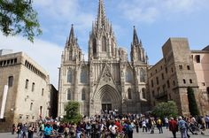 Top attractions and things to do in Barcelona, Spain. There is much to experience in Barcelona, everything you need to know about attractions in Barcelona. Barcelona Cathedral, Attraction, Spain, Travel, Architecture, Voyage, Viajes, Traveling, Trips