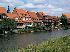 Europe River Cruise - Bamberg River Houses
