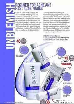 UNBLEMISH for acne & acne scars lookgr8.myrandf.com