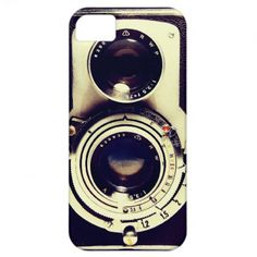 Vintage Camera iPhone 5 Cover - I WANT THIS!!!