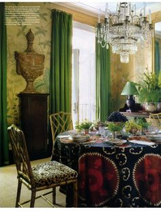 Great Styling for an Elegant Dining Room