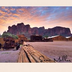 Imagine your dream wedding HERE! Superstition Mountains. Arizona Weddings. Siphon Draw Livery - Rustic Barn | Mining Camp Restaurant