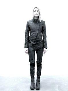 Dark Fashion, Cyberpunk Style, linea_e by incarnation