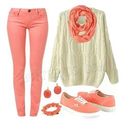 Cute oufit for school, out with friends, or just on a chili day