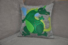 Dragon pillow kid pillow dragon decor sofa by AgaArtFactory Funny Pillows, Kids Pillows, Throw Pillows, Dragon, Pillow Room, Colorful Pillows, Decorative Cushions, Kids Bedroom, Pillow Covers