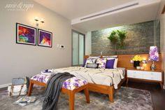 Master bedroom (de Savio and Rupa Interior Concepts )