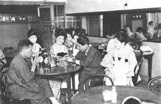写真・図版 : 昭和初期の九州・博多東中洲のカフェー