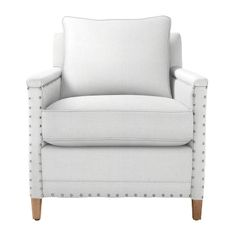 Custom Upholstered Spruce Street Chair in Designer Fabrics | Serena & Lily 30w x 32d x 36 h