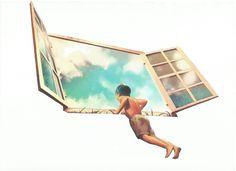 Las personas son como las ventana con vidrieras: a la luz del sol brillan y relucen, pero en la oscuridad sólo son bellas si algo en su interior las ilumina. Elizabeth Hübler-Ross