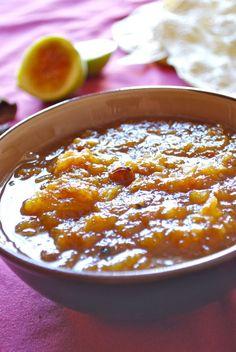 Receta de chutney de higos y piña Bien Tasty, Bechamel, World Recipes, Fruits And Vegetables, Dips, Food And Drink, Soup, Yummy Food, Chutneys