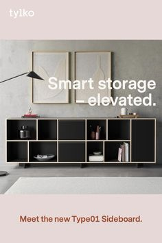Choose from endless customisation options to design a timeless storage that's ready for anything. Home Room Design, Decor Interior Design, Diy Furniture Plans, Home Furniture, Living Room Tv Unit Designs, Parker House, Diy Crafts For Home Decor, Vinyl Storage, Home Entertainment