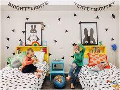 30 inspirações lindas de quarto compartilhado! - Just Real Moms