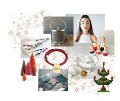 """""""Holiday cheer"""" by calloohcallay-vintage on Polyvore featuring interior, interiors, interior design, home, home decor, interior decorating, Cody Foster & Co. and vintage"""