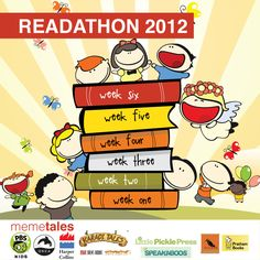 Summer Reading Challenge & MeMeTales Readathon - two great ways to keep kids reading!