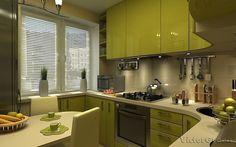 Дизайн маленькой кухни | Идеи дизайна интерьера