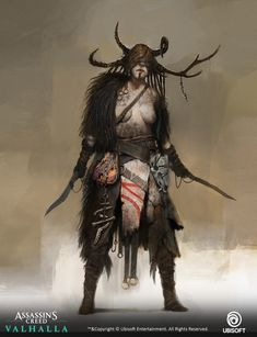 ArtStation - Assassin's Creed: Valhalla -Goneril-, Pierre Raveneau Best Assassin's Creed, All Assassin's Creed, Arte Assassins Creed, Assassins Creed Odyssey, Concept Art, Character Concept, Character Art, Character Ideas, Assassin's Creed Wallpaper