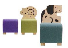 animal stools - love!