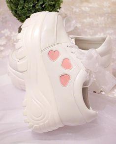 df1bb48564f Japanese kawaii heart lace platform shoes SE8250 – SANRENSE