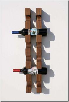 7 lindos suportes para garrafas de vinho | Oficina 44