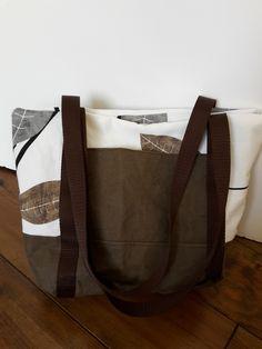 """Meine zweite Handtasche """"Svea"""" von kreativlaborberlin. Dieses Mal mit SnapPap als Taschenboden und bei der aufgesetzten Tasche."""