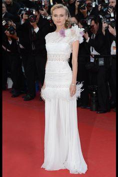 20 vestidos blancos de alfombra roja perfectos para pasar por el altar: Diane Kruger de Nina Ricci. | Galería de fotos 4 de 20 | Vogue