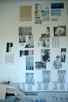 own work on the wall