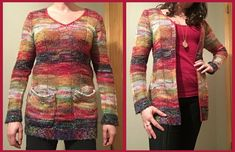 For this project, I started out with a highly unflattering sweater dress.     I carefully snipped off the pockets.   Fixed a hole I made fro...