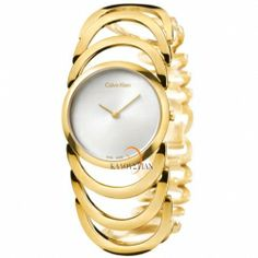 Discover CALVIN KLEIN women's watches, in distincy and modern styles. Choose from a selection of delicate watches for women ranging from gold, to rose gold and silver. Calvin Klein Watch, Ck Calvin Klein, Burberry, Gucci, Body Rose, Swarovski, Fashion Deals, Stainless Steel Bracelet, Gold Watch