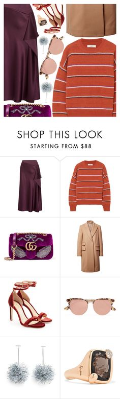"""Untitled #6758"" by amberelb ❤ liked on Polyvore featuring Cushnie Et Ochs, Étoile Isabel Marant, Gucci, STELLA McCARTNEY, Chloe Gosselin, Le Specs and Pomellato"
