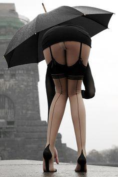 Open In Case Of Rain #sexy #women