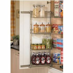 kitchen Pantry Organizers Hafele Full Extension Pantry PullOut