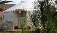 The Park Mawgan Porth Yurts | Cornwall, England, UK #glamping