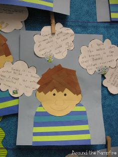Author's viewpoint lesson and thinking craft for The Art Lesson by Tomie dePaola.