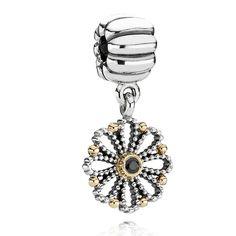 #Pandora Lace #Flower #Clip