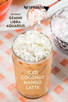 Looking for a new Iced Coffee recipe? Look to the stars for guidance, with Nespresso coffee drink ideas based on your Zodiac sign. Nespresso Usa, Nespresso Recipes, Blended Coffee, Iced Coffee, Coffee Drinks, Nespresso Boutique, Aquarius And Libra, Home Coffee Stations, Coffee Crafts
