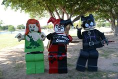 LEGO Poison Ivy, Harley Quinn, and Catwoman (DC Comics) | Source: Black Sheep Comics