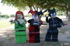 LEGO Poison Ivy, Harley Quinn, and Catwoman (DC Comics)   Source: Black Sheep Comics
