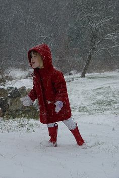Doesn't every kid try to catch snowflakes with their tongue?  ;p
