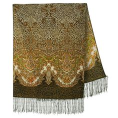MADE IN: RUSSIA, Pavlovo Posad Made by: Pavlovo Posad factory since 1795 Dimensions: inch) Material: wool. Paisley, Womens Scarves, What To Wear, How To Make, Islands, Shopping, Dresses, Sandal, Free Shipping