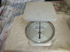 Vintage American Family Scale 25 lb Weighs by The Ounces | eBay