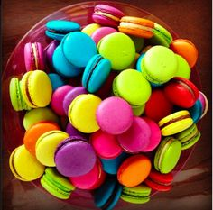 color macaroon...Quelque chose...