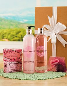 Birthday Gifts and Flowers for Her: Baylis & Harding Wild Rose Pamper Hamper !