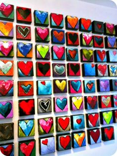 Has your class been commissioned to create an art project for the school auction? We love these simple but beautiful ideas.