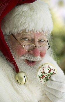 Santa loves his cookies :)
