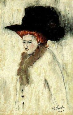 Paul Gosselin - The black hat by Paul Gosselin