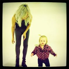 Baby Lux and Lou Teasdale <3