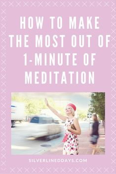 Make the most out of 1-minute of meditation. Even taking a brief moment to practice meditating can help you gain mental and energetic clarity.   By practicing meditation, you can better focus your attention from thoughts that drain your energy to thoughts and situations that uplift you.  meditation | reiki | energy healing | reiki healing | chakras | manifest | holistic wellness | what is reiki | holistic healing | inspiration | holistic health | mindfulness