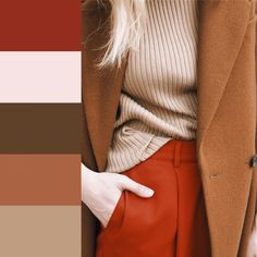 Trend alert and must have for fashion and outfits for the incoming New Style of women's fashion Colour Combinations Fashion, Color Combinations For Clothes, Fashion Colours, Colorful Fashion, Color Combos, Winter Outfits, Casual Outfits, Fashion Outfits, Fashion Tips